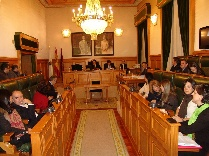 Sesión do pleno municipal.